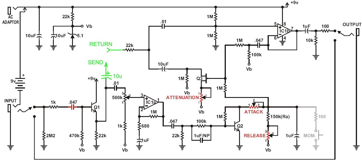Tonepad MXR Noise Gate to 'smart' gate