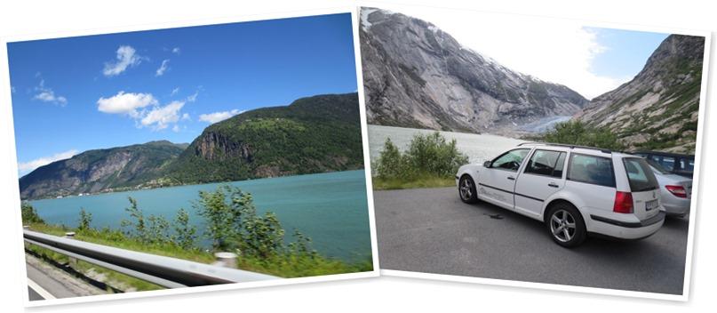View Balestrand - glacier drive