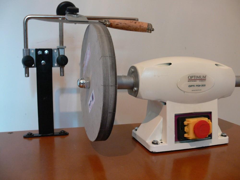Bringing Tormek Precision To Paper Wheels