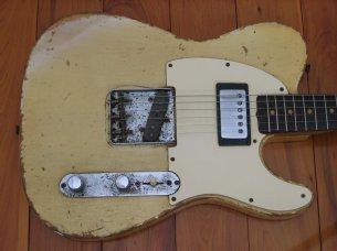 Make: Fender  Model: Telecaster  Colour: Blonde  Year: 1963  Serial Number: L119XX  Case: Black (not original)