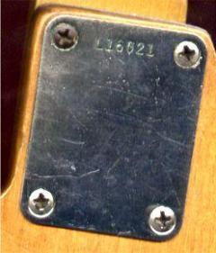 fender serial number dating
